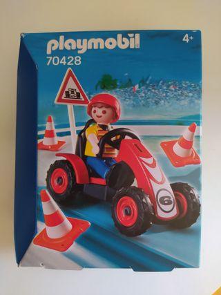 Playmobil 70428 niño con kart Año 2020