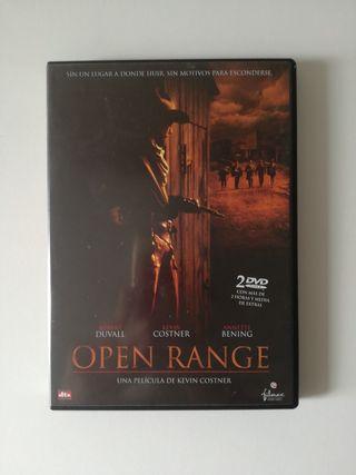 Open Range película DVD