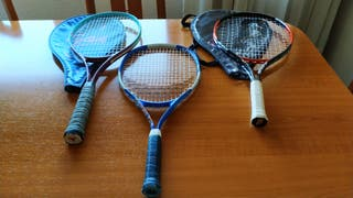 Raquetas de tenis (3)