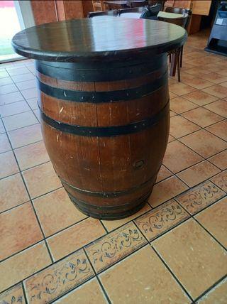 barrica de madera