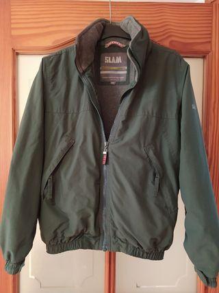 SLAM Verde 148 cm con polar por dentro.