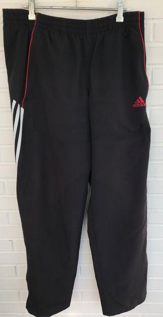 VINTAGE pantalón negro chandal ADIDAS talla 40