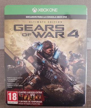 Gears of War 4. Xbox One. Precintado.