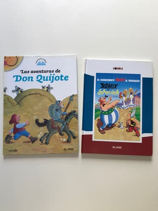 Comic Don Quijote + Asterix y la traviata