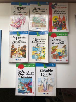 8 Libros ediciones dylar lote