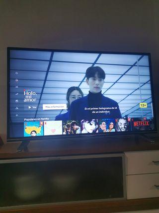TV 50 pulgadas solo dos años de uso