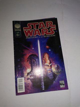 Preludio a la rebelión Star Wars.
