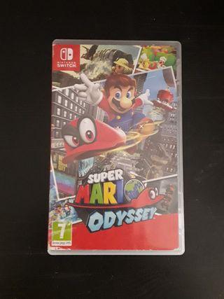 Super Mario Oddysey Nintendo Switch