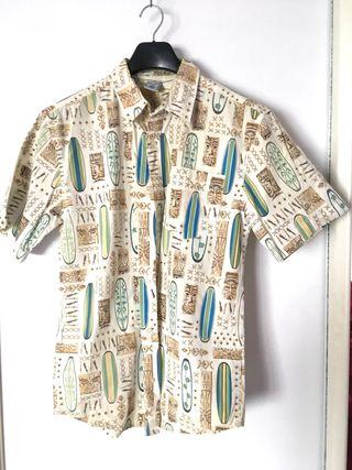 Camisa hawaiana hombre