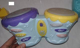 Timbal (2 tambores) ELECTRÓNICO infantil