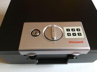 Caja fuerte Honeywell resistente al fuego 14L