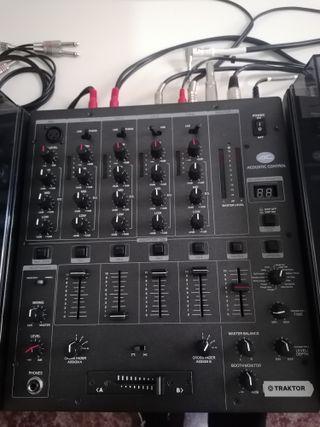 Mesa mezclas Acoustic Controll Usb