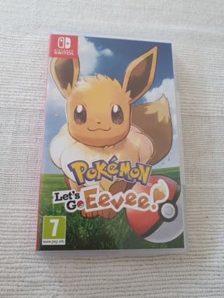 Pokemon: Let's Go Eevee Nintendo Switch