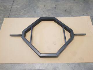 barra hexagonal olímpica