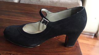 Zapatos de flamenco profesional N. 39