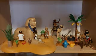Lote playmobil Esfinge ladrones nuevos Egipto