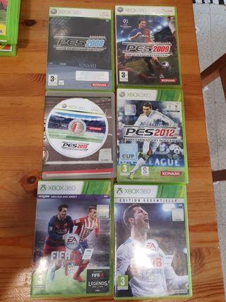 juegos futbol xbox 360