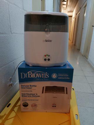 Esterilizador Dr. Brown eléctrico