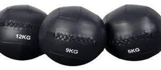 Wall Ball Doble costura 6 kgs Negro FDL