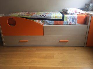 Cama habitación juvenil (doble)