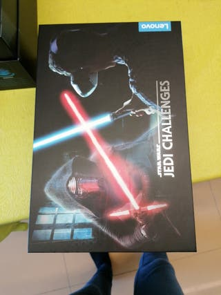 espada láser Jedi realidad virtual con gafas 3D