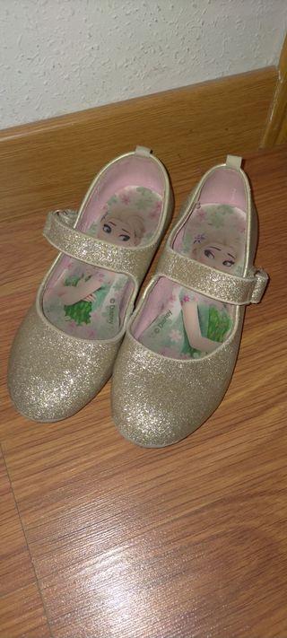 Zapatos niña frozen