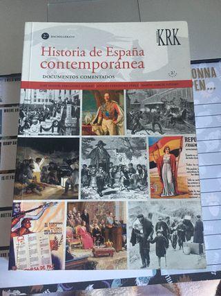 Historia de España Contemporánea EBAU PAU