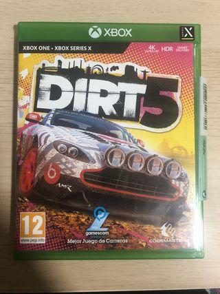 Dirt 5 para Xbox One o Xbox Series X S como nuevo