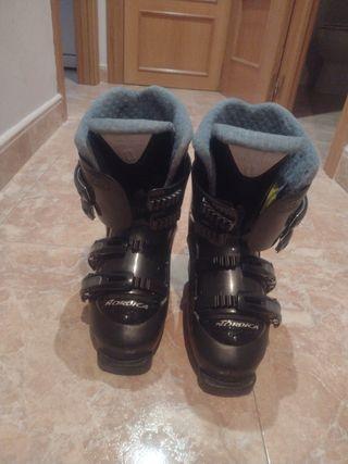 esquí nordica botas