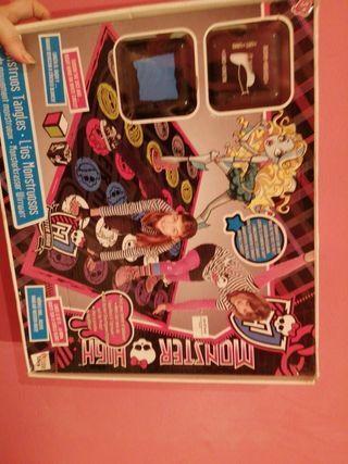 Twister Monster High juego de mesa