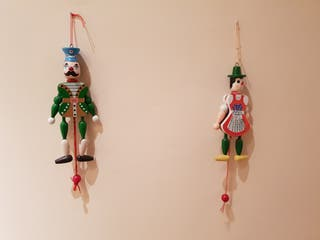 Marioneta articulada madera