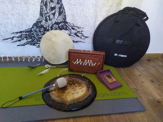 Instrumentos sonoterapia