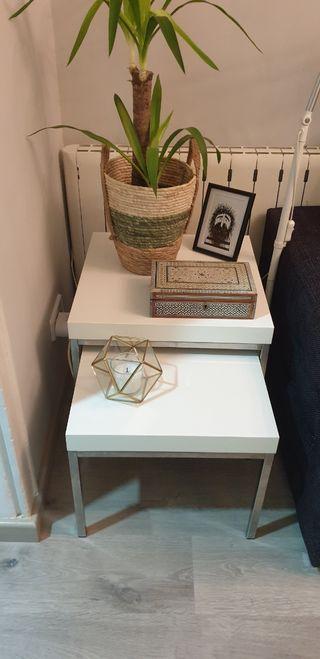 Mesas de centro apilables de Ikea