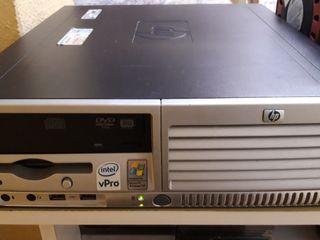 ordenador com Windows XP