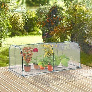 Invernadero Transparente para Jardín o Terraza - A
