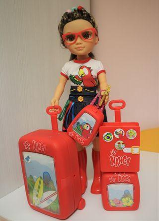 Muñeca Nancy aventuras Brasil y accesorios