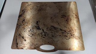 Plancha Celsius de acero para pizzas y panes