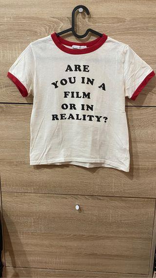 Camiseta tricolor de Zara