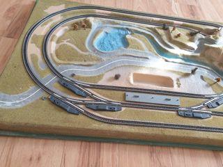 maqueta modelismo ferroviario ibertren