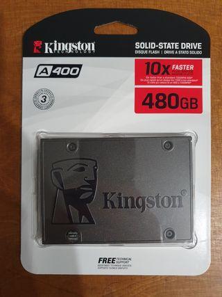 SSD KINGSTON 480gb Precintado 3 años de garantía