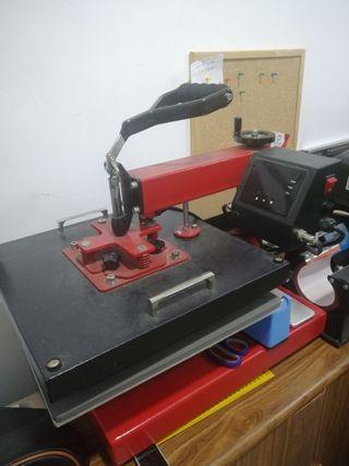 máquinas, sublimación, serigrafia, vinilo textil