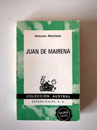 Juan de Mairena de Antonio Machado