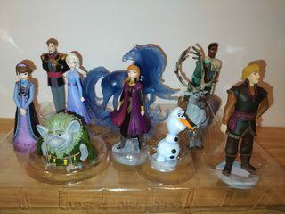 Set de diez figuras Frozen 2 disney