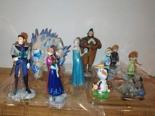 Set 10 figuras frozen disney
