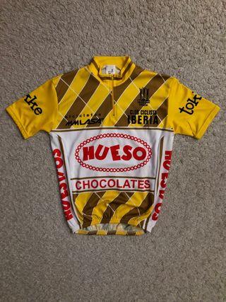 Maillot ciclista equipo Hueso Chocolate