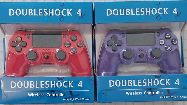 ps4 controller wireless in box included cable