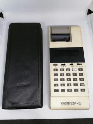 Canon TP-8 Impresora y calculadora electrónica