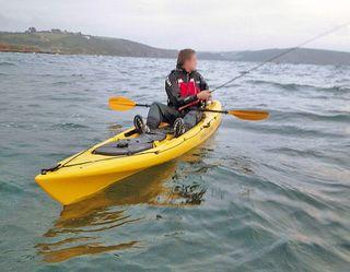 "Kayak para pescar ""Ocean kayak prowler 13"""