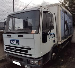 Camión frigorífico con tarjeta de transporte