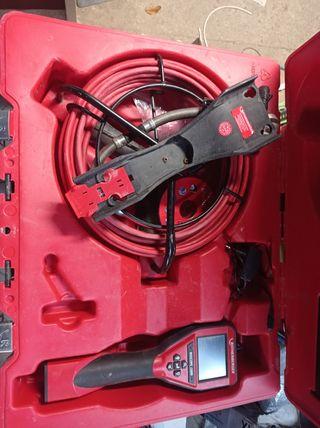 Cámara inspección tuberías + sonda